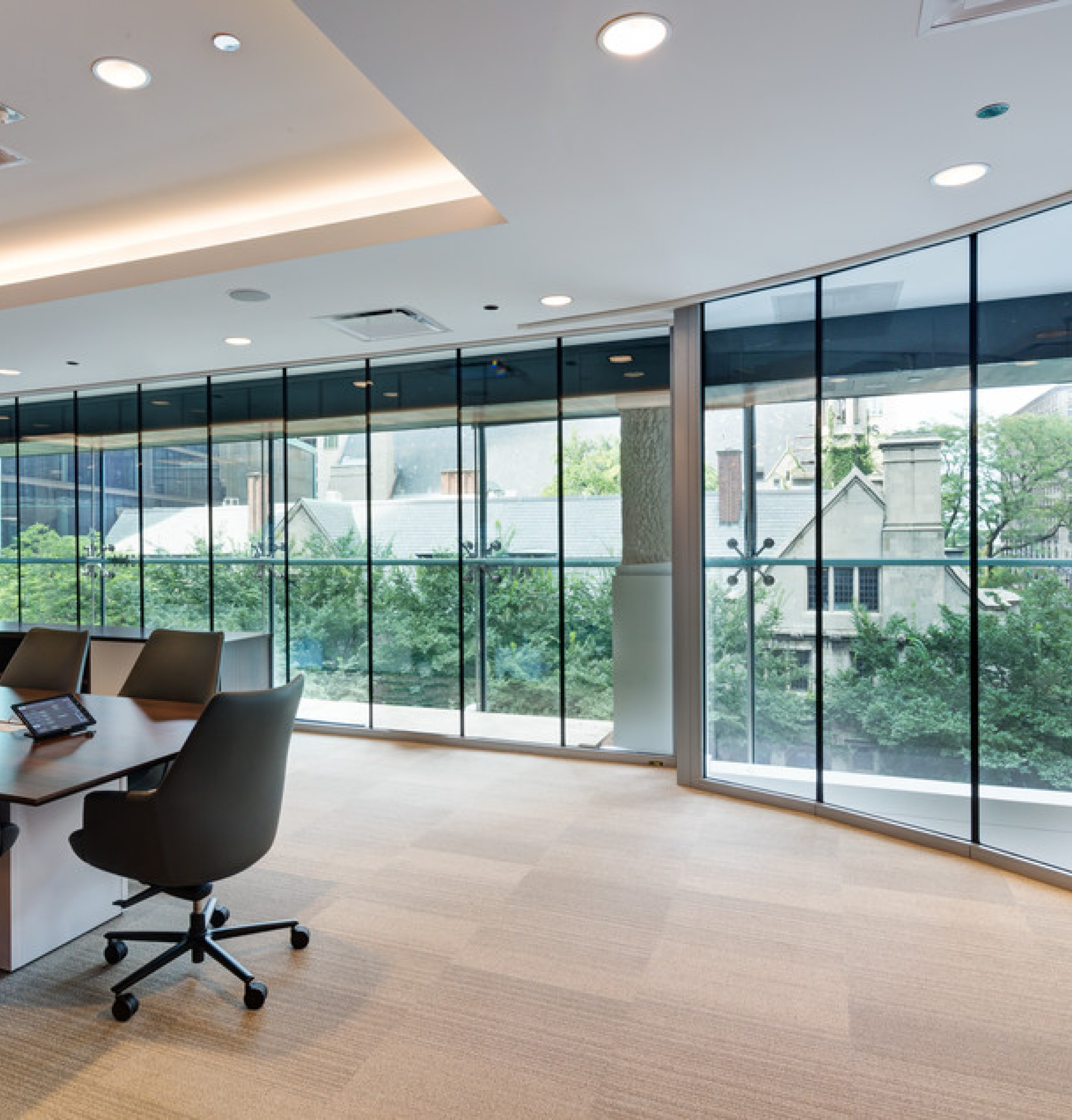 Vetrotech Saint-Gobain Fire-rated glass - Verizon, Chicago